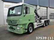 Sonstige Mercedes Benz Actros 3244 8x2 Euro 5 Intarder EPS 3 pedalen Abrollcontainer