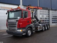 Scania G440 8x2 Euro 5 Retarder Abrollcontainer