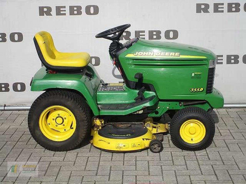 john deere 355 traktorek ogrodowy 49661 cloppenburg. Black Bedroom Furniture Sets. Home Design Ideas
